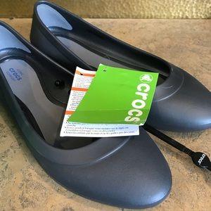 8f405abf34e CROCS Shoes - Crocs ionic comfort rubber ballet flats. Grey 8.